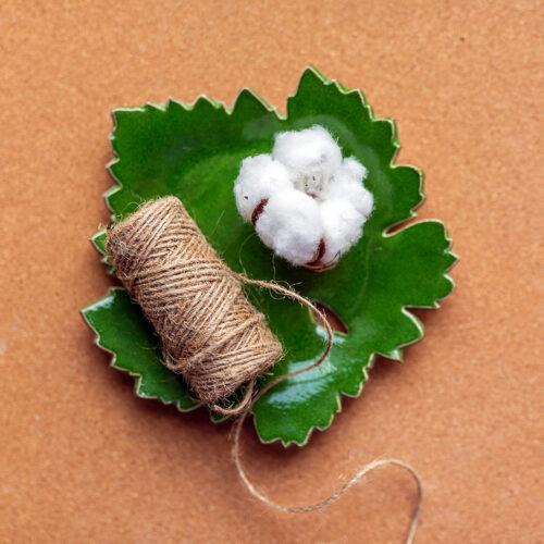 Лист винограда (подставка, тарелка - 2 шт.)