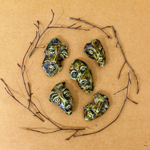 Нерияги (предмет на гончарном круге из двух разноцветных глин)