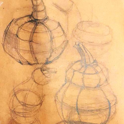 Ищем форму керамической тыквы