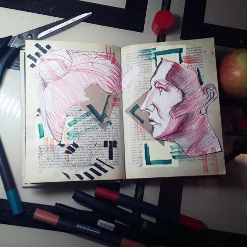 Поиск композиции для портрета
